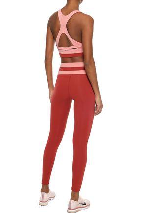 IRIS & INK Cutout stretch sports bra