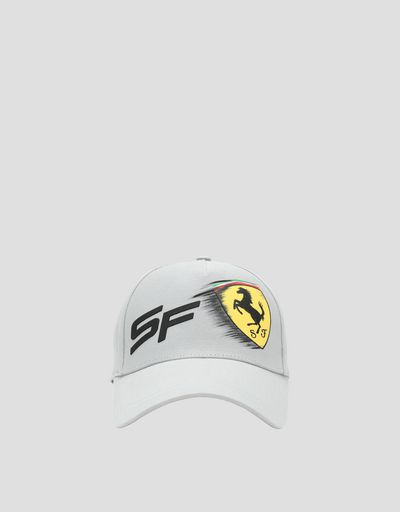 7e8ad8809304c Child s cap with moving Ferrari Shield effect ...
