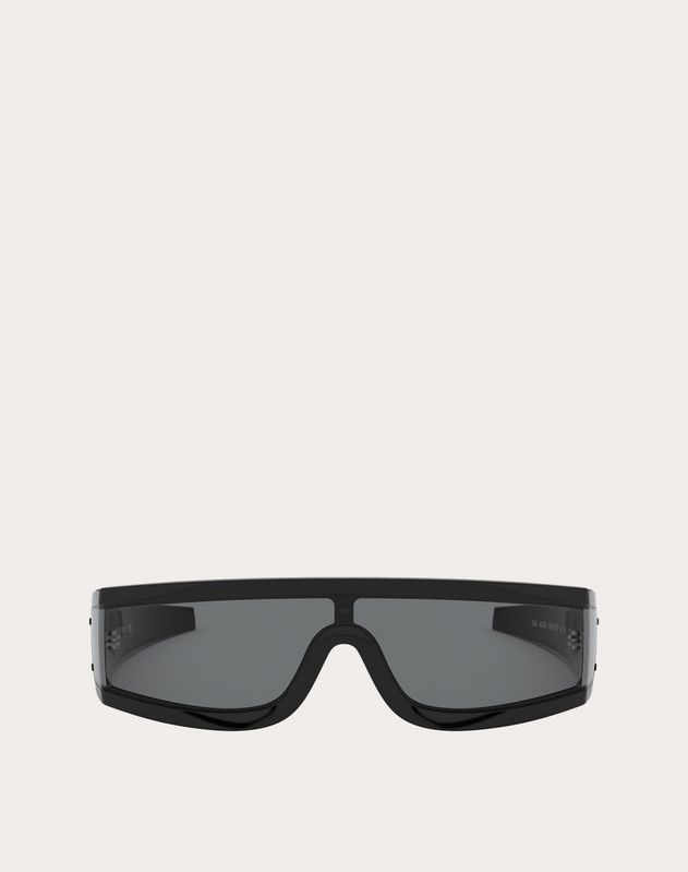 VLTN WRAP SHIELD ACETATE SUNGLASSES