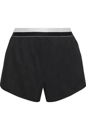 IRIS & INK Layered scuba shorts