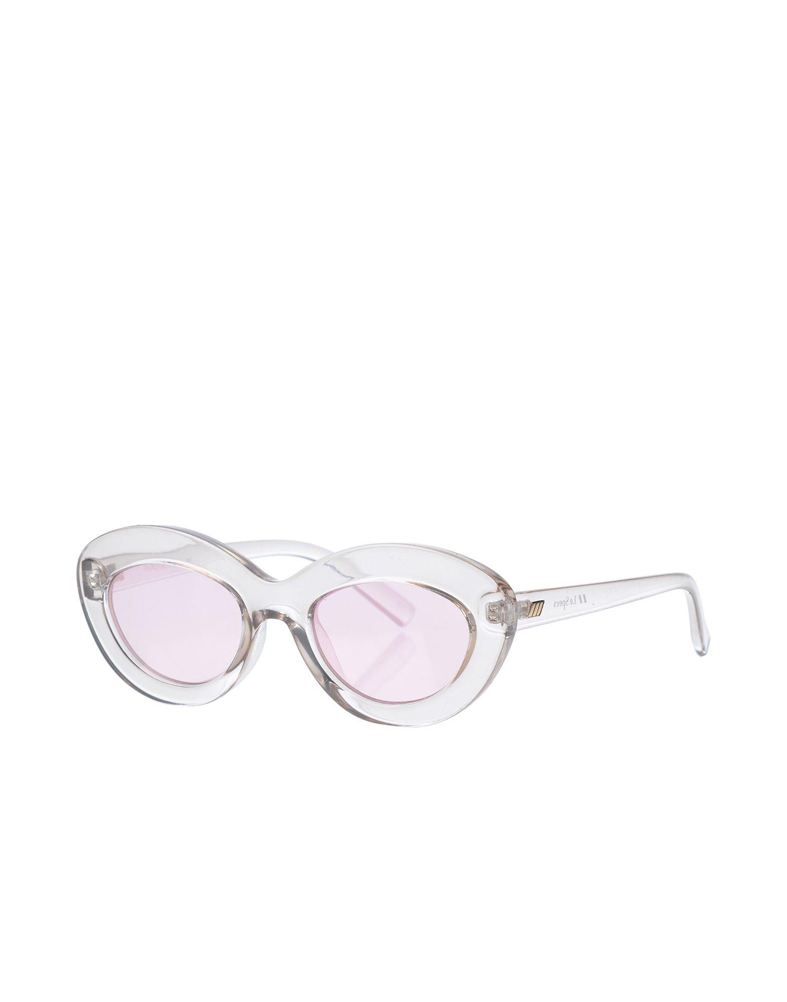 ADAM SELMAN x LE SPECS Damen Brille Farbe Transparent Größe 1