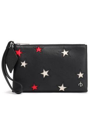 RAG & BONE Laser-cut leather pouch