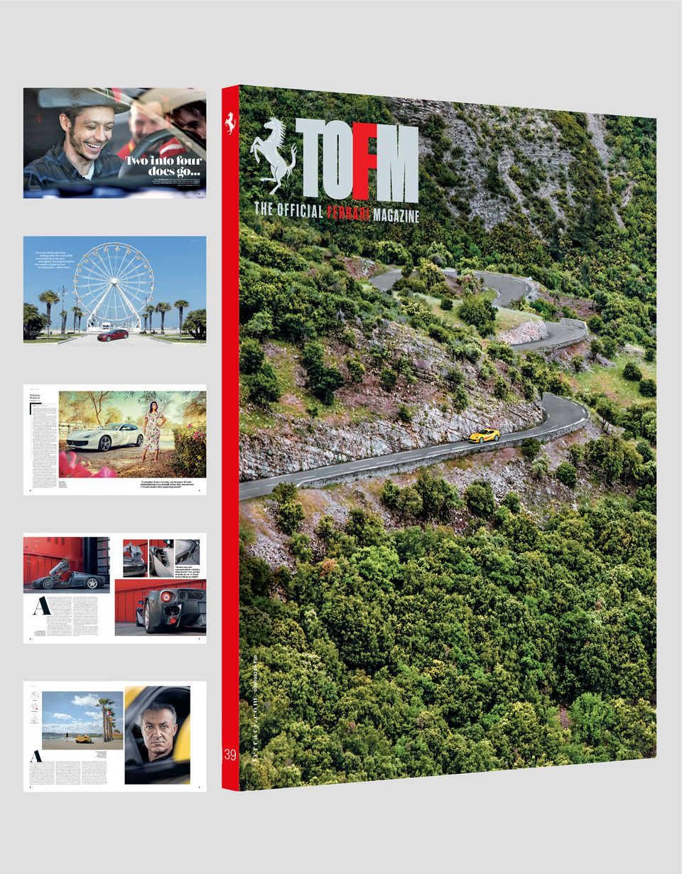 Scuderia Ferrari Online Store - The Official Ferrari Magazine issue 39 - Books