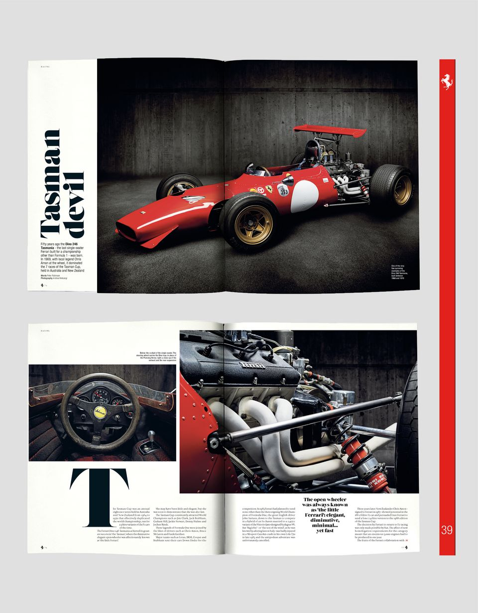 Scuderia Ferrari Online Store - Журнал The Official Ferrari Magazine номер 39 - Книги