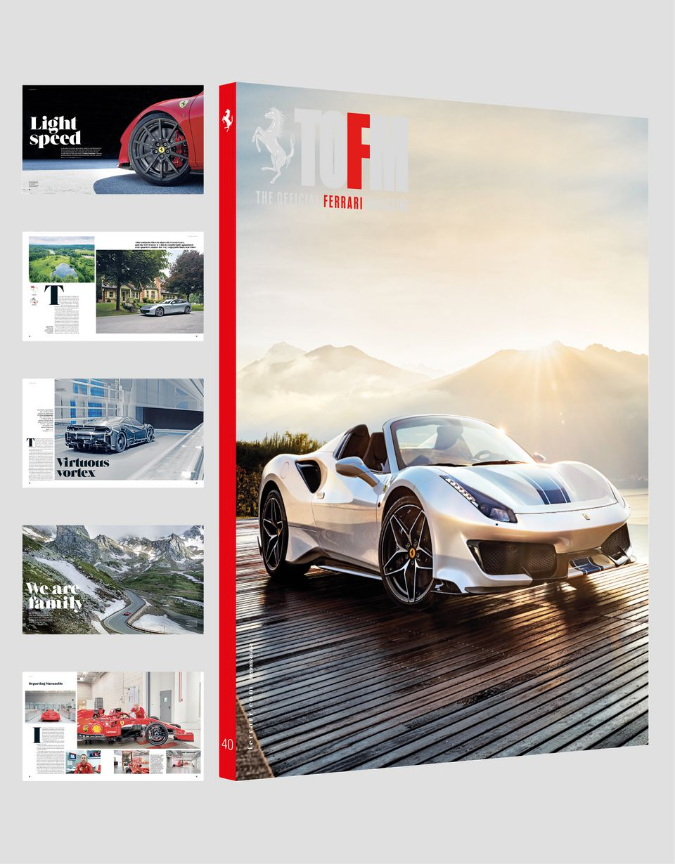 Scuderia Ferrari Online Store - The Official Ferrari Magazine, issue 40 - Books