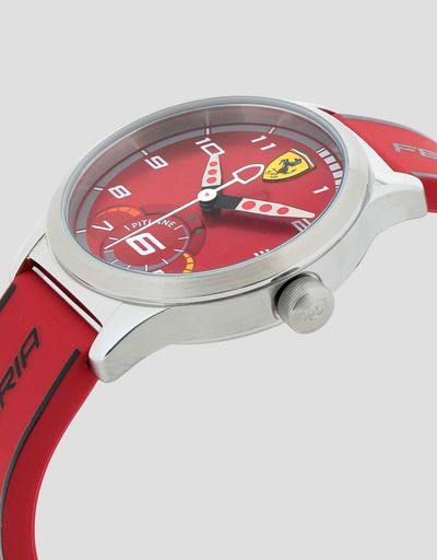 Boys' red Pitlane watch