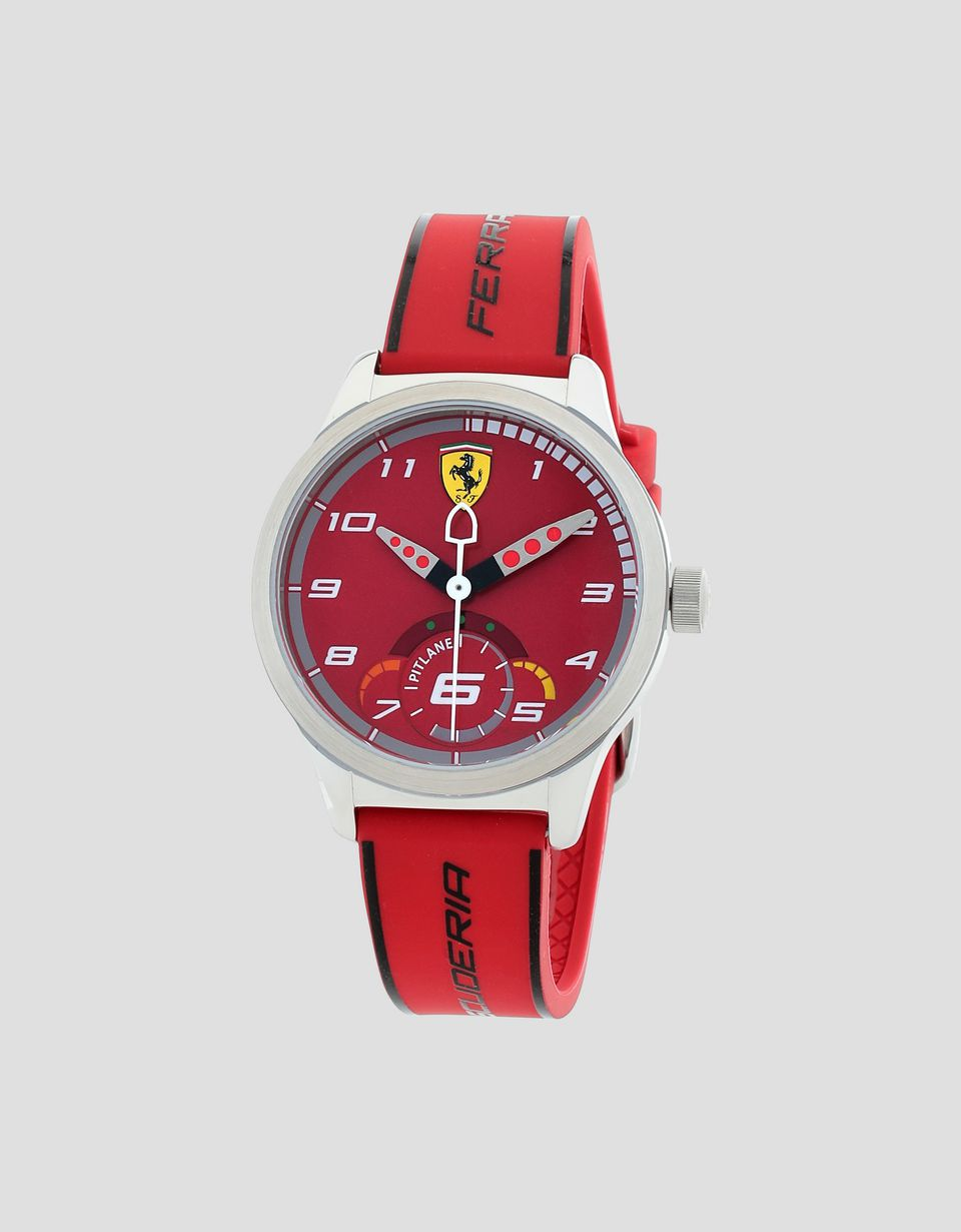 Scuderia Ferrari Online Store - Red Pitlane watch for teenagers - Quartz Watches
