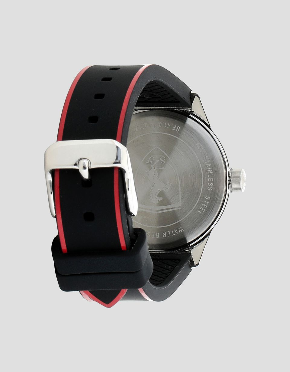 Scuderia Ferrari Online Store - Boys' black Pitlane watch with red details - Quartz Watches