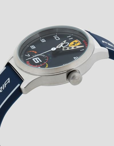 Boys' blue Pitlane watch