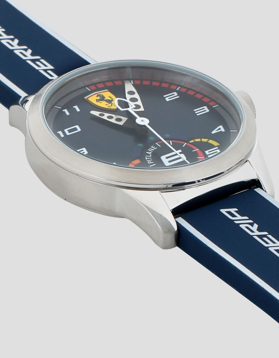 Scuderia Ferrari Online Store - Boys' blue Pitlane watch - Quartz Watches