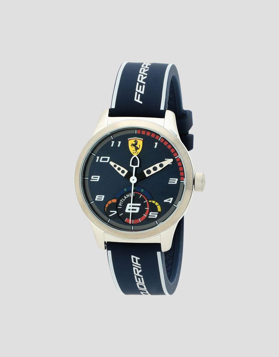 Scuderia Ferrari Online Store - Blue Pitlane watch for teenagers - Quartz Watches