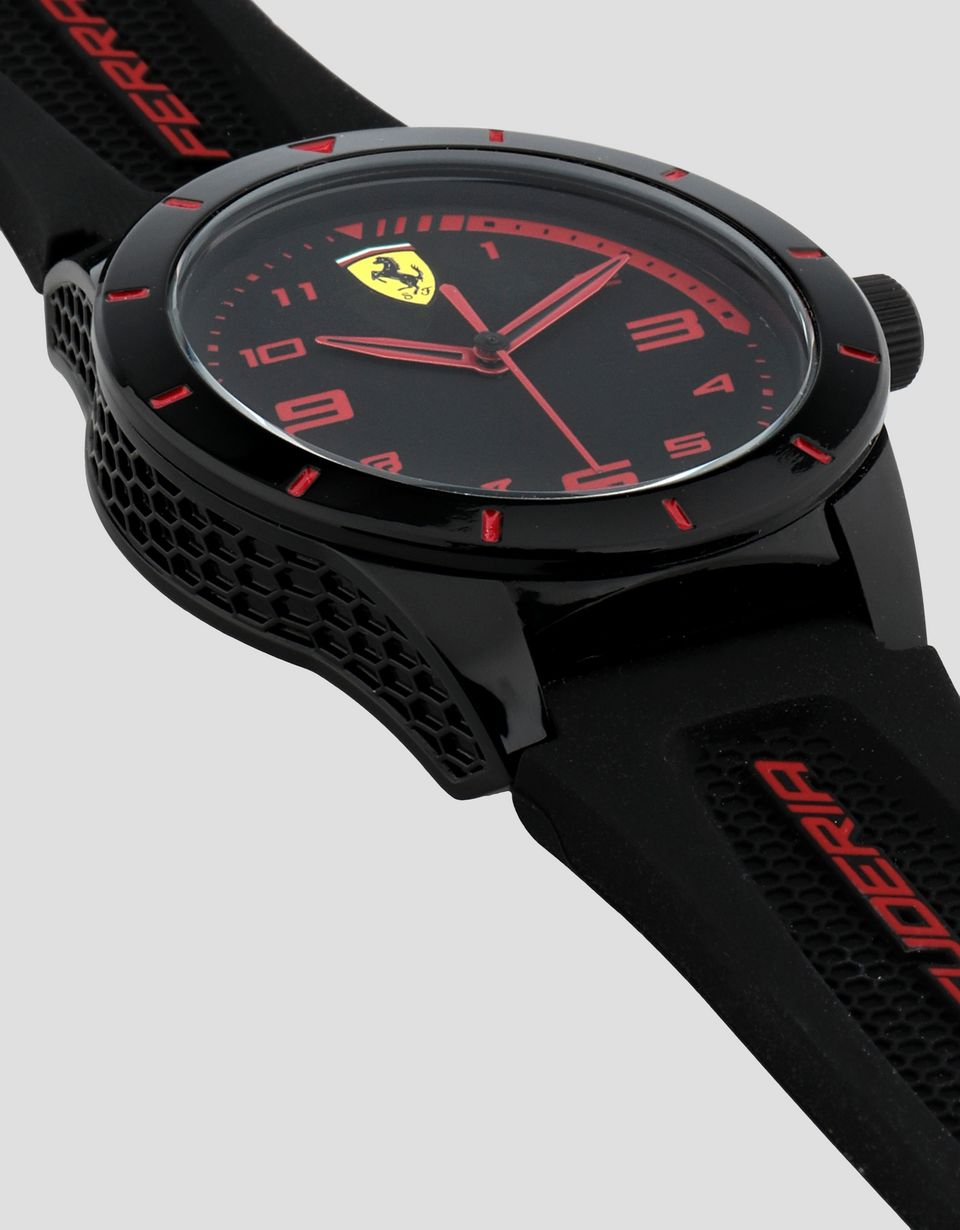Scuderia Ferrari Online Store - Boys' black Red Rev watch with red details - Quartz Watches