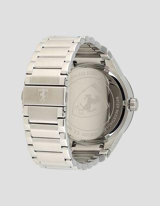 Scuderia Ferrari Online Store - Reloj Red Rev T de acero con esfera en negro - Quartz Multifunctional Watch