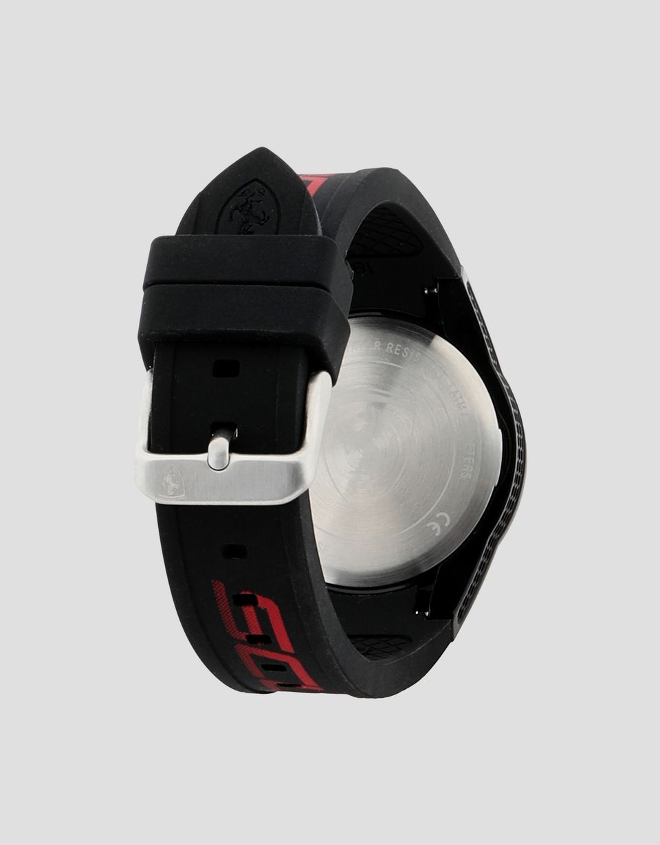 Scuderia Ferrari Online Store - Small black Red Rev watch with red details - Quartz Watches