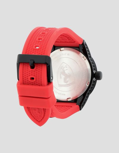 Scuderia Ferrari Online Store - Boys' red Red Rev watch with black details -
