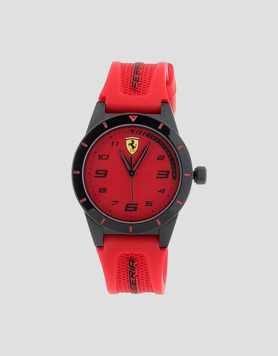 Boys' red Red Rev watch with black details