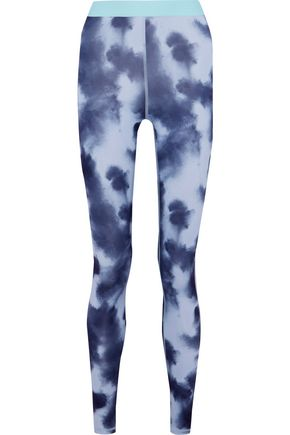 IRIS & INK Tie-dyed stretch leggings