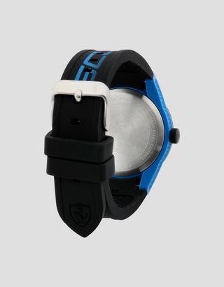 Scuderia Ferrari Online Store - Small black Red Rev watch with blue details - Quartz Watches