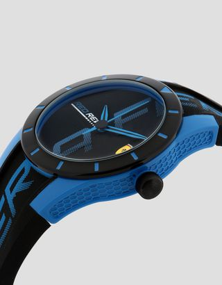 Scuderia Ferrari Online Store - Small black Red Rev watch with blue details - Quartz Watches