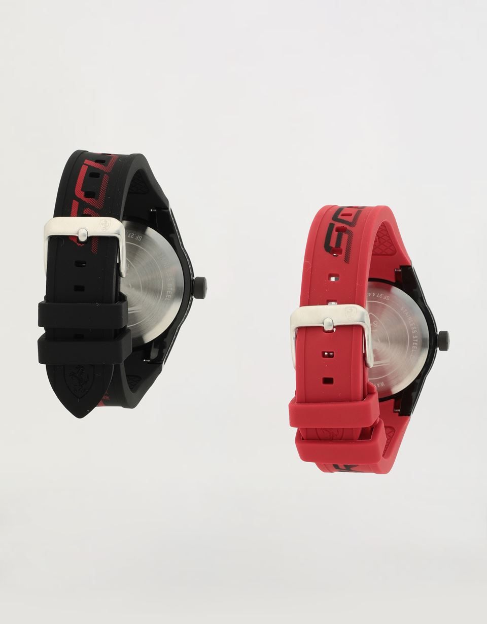 Scuderia Ferrari Online Store - Twin Red Rev watch gift set - Quartz Watches