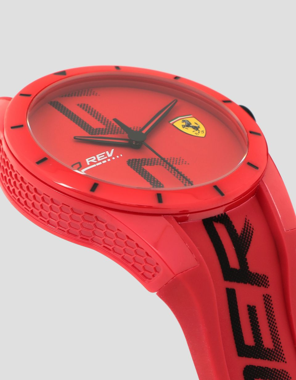 Scuderia Ferrari Online Store - Exclusive Ferrari Store red Red Rev watch - Quartz Watches