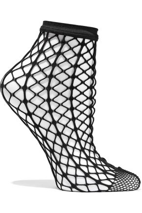 WOLFORD Tina fishnet socks