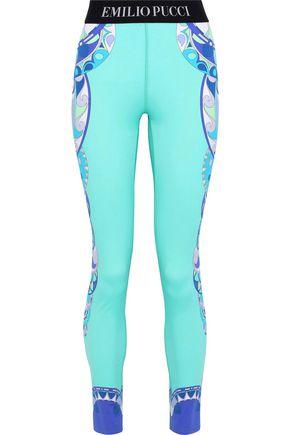 EMILIO PUCCI Printed stretch leggings