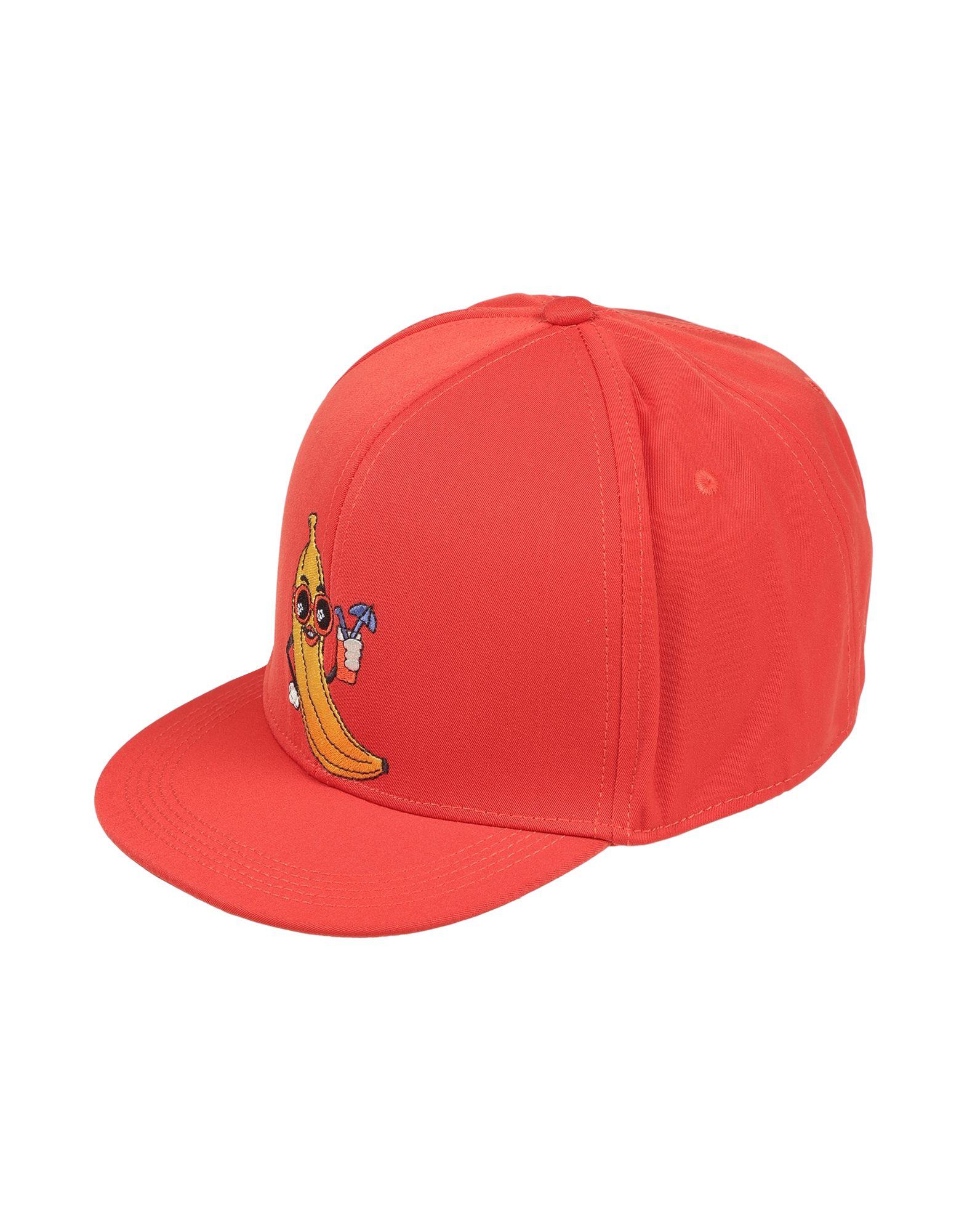 《期間限定 セール開催中》MINI RODINI Unisex 帽子 レッド 58 ポリエステル 100%