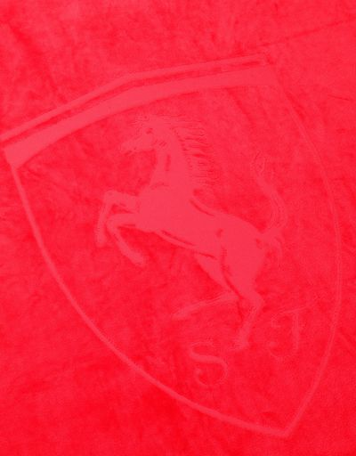 Scuderia Ferrari Online Store - Cotton Scuderia Ferrari beach towel - Beach Towels