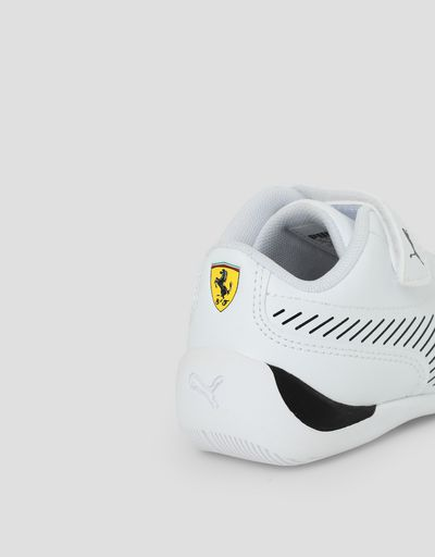 Scuderia Ferrari Online Store - Puma SF Drift Cat 7S Ultra V shoes for children - Active Sport Shoes