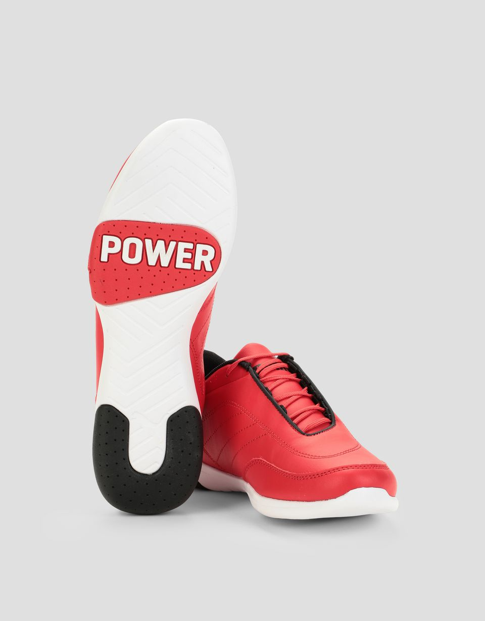 Scuderia Ferrari Online Store - Puma SF Kart Cat III shoes for teens - Active Sport Shoes