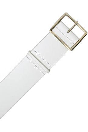 ALICE + OLIVIA Two-tone leather belt