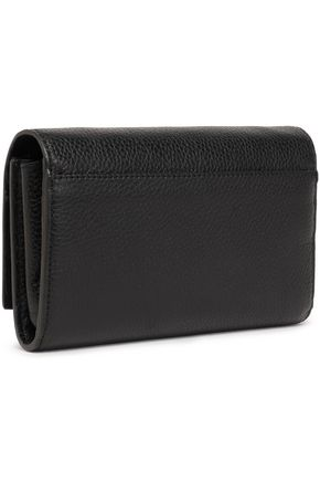 fbb48b2d6b47 DKNY Embossed textured-leather wallet