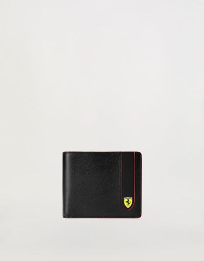 ea2c27d387ce Horizontal EVO Saffiano bi-fold wallet with change pocket ...