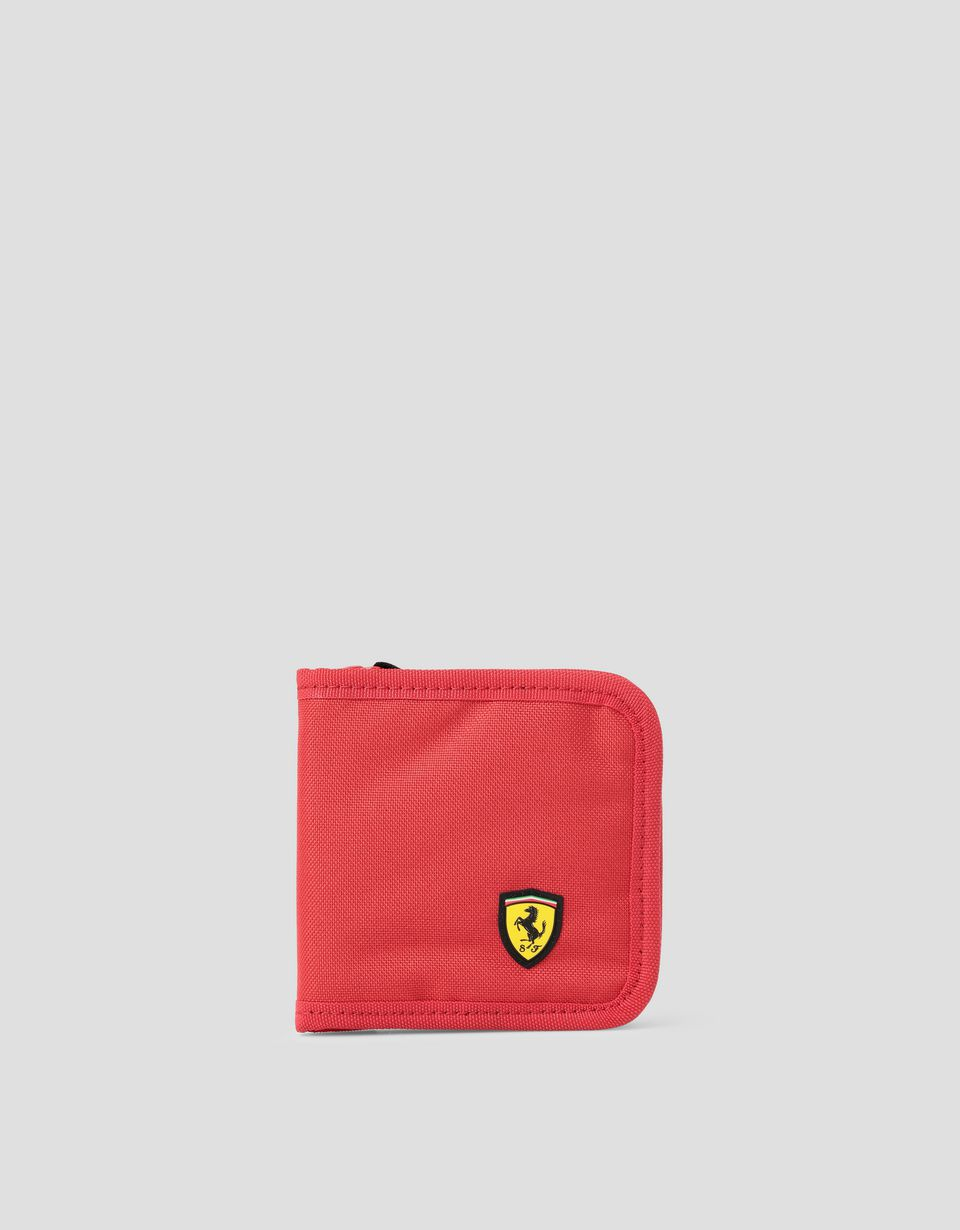 9b371ee8972d Scuderia Ferrari Online Store - Scuderia Ferrari Puma wallet with zip -  Horizontal with coin Wallets ...
