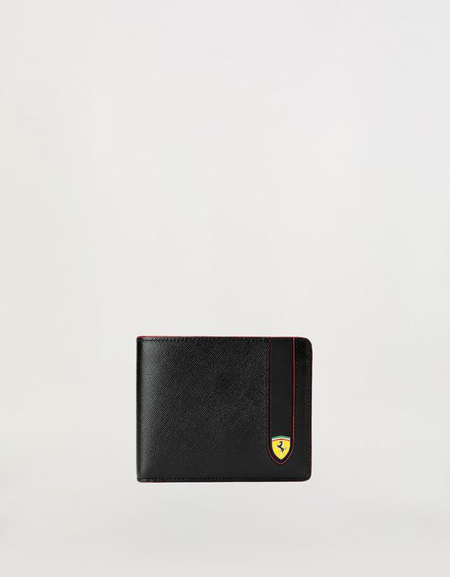 af6dc81a16e2 Scuderia Ferrari Online Store - Horizontal EVO Saffiano bi-fold wallet -  Horizontal Wallets ...
