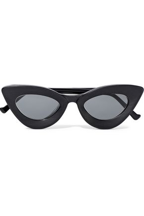 GREY ANT Iemall cat-eye acetate sunglasses
