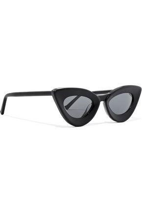 GREY ANT Iemall cat-eye acetate sunglasses