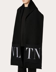 VLTN Hooded Scarf