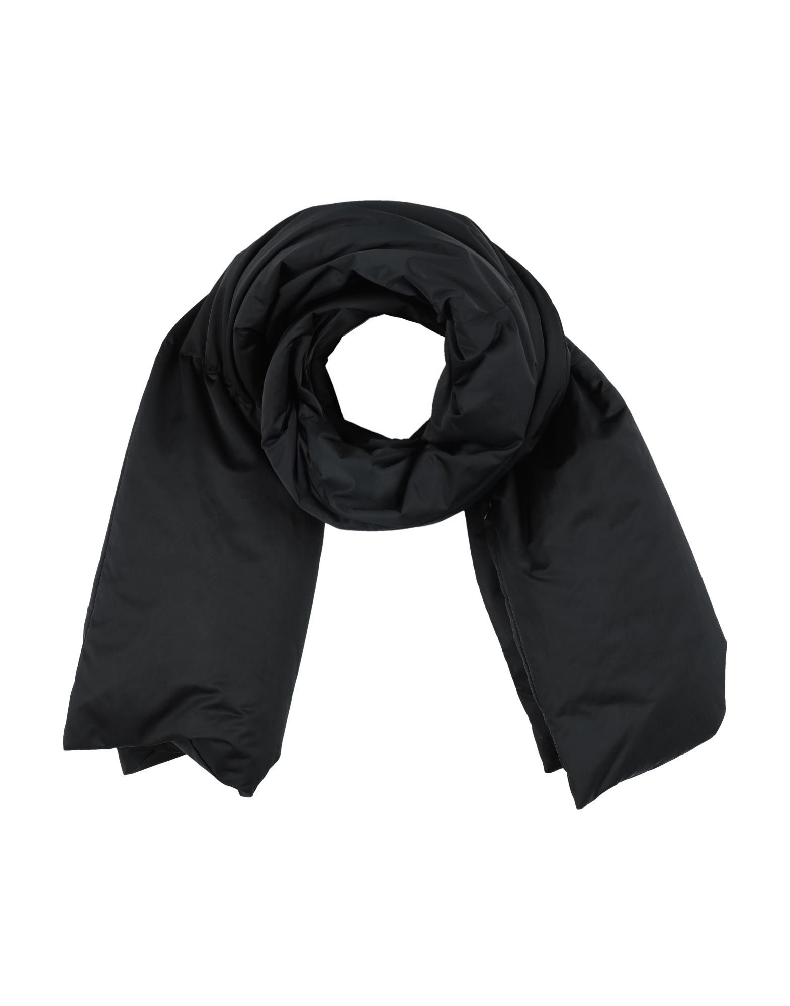 MM6 MAISON MARGIELA Stoles. techno fabric, laces, basic solid color, duck down filling, contains non-textile parts of animal origin. 70% Polyester, 30% Polyamide