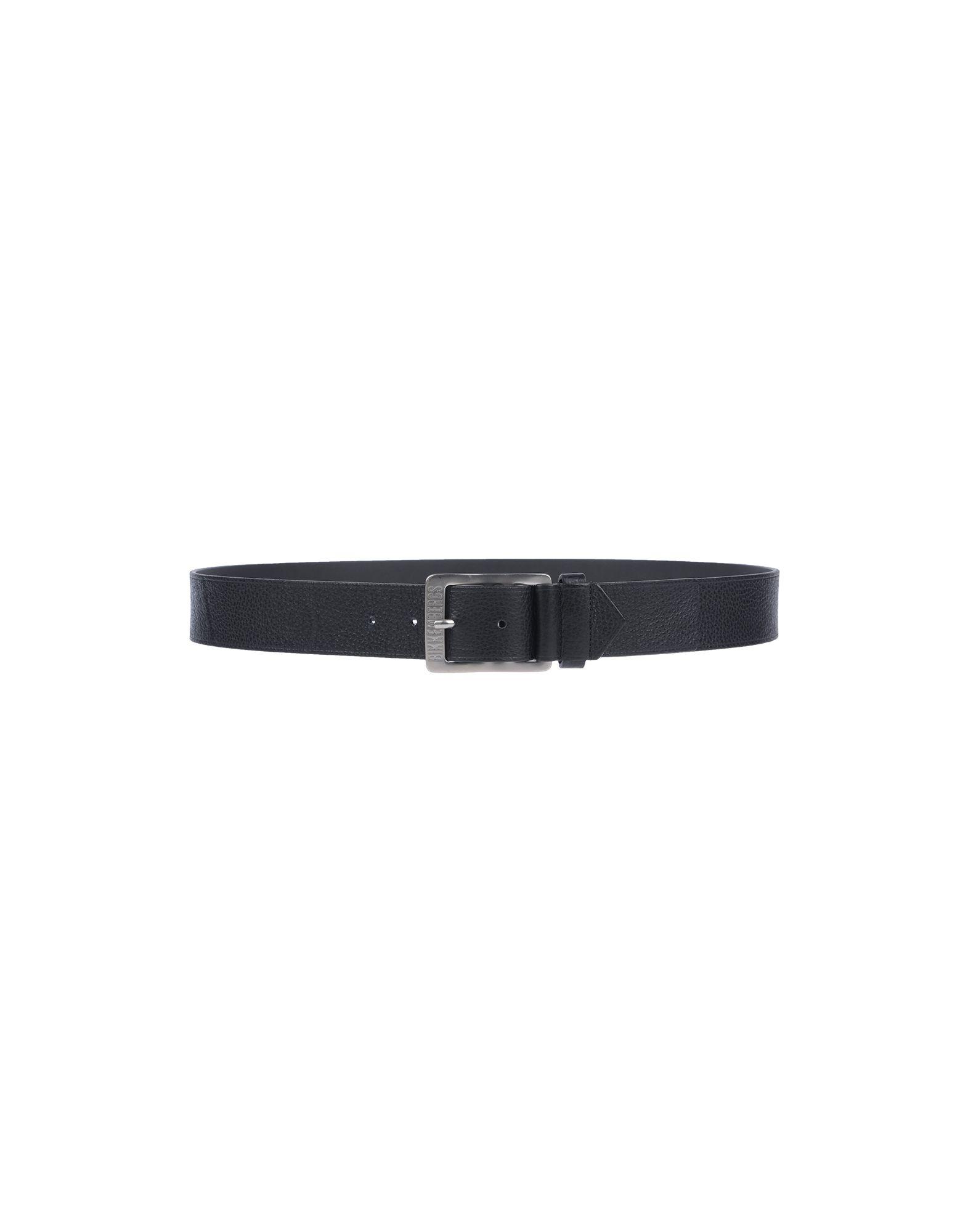 《セール開催中》BIKKEMBERGS メンズ ベルト ブラック S 革