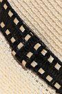EUGENIA KIM Courtney raffia-trimmed woven paper-blend sunhat