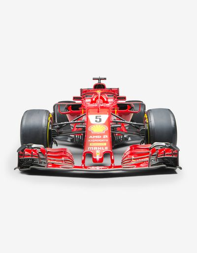 Ferrari SF71H F1 Vettel model in 1:8 scale