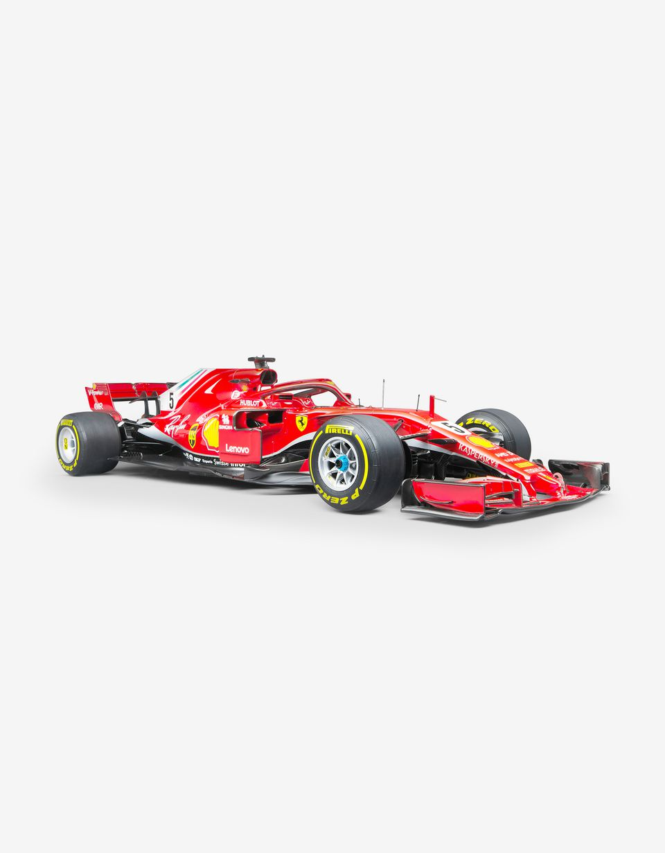 Scuderia Ferrari Online Store - Ferrari SF71H model F1 Vettel in 1:8 scale - Car Models 1_1.8