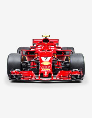 Scuderia Ferrari Online Store - Ferrari SF71H model F1 Räikkönen in 1:8 scale - Car Models 1_1.8
