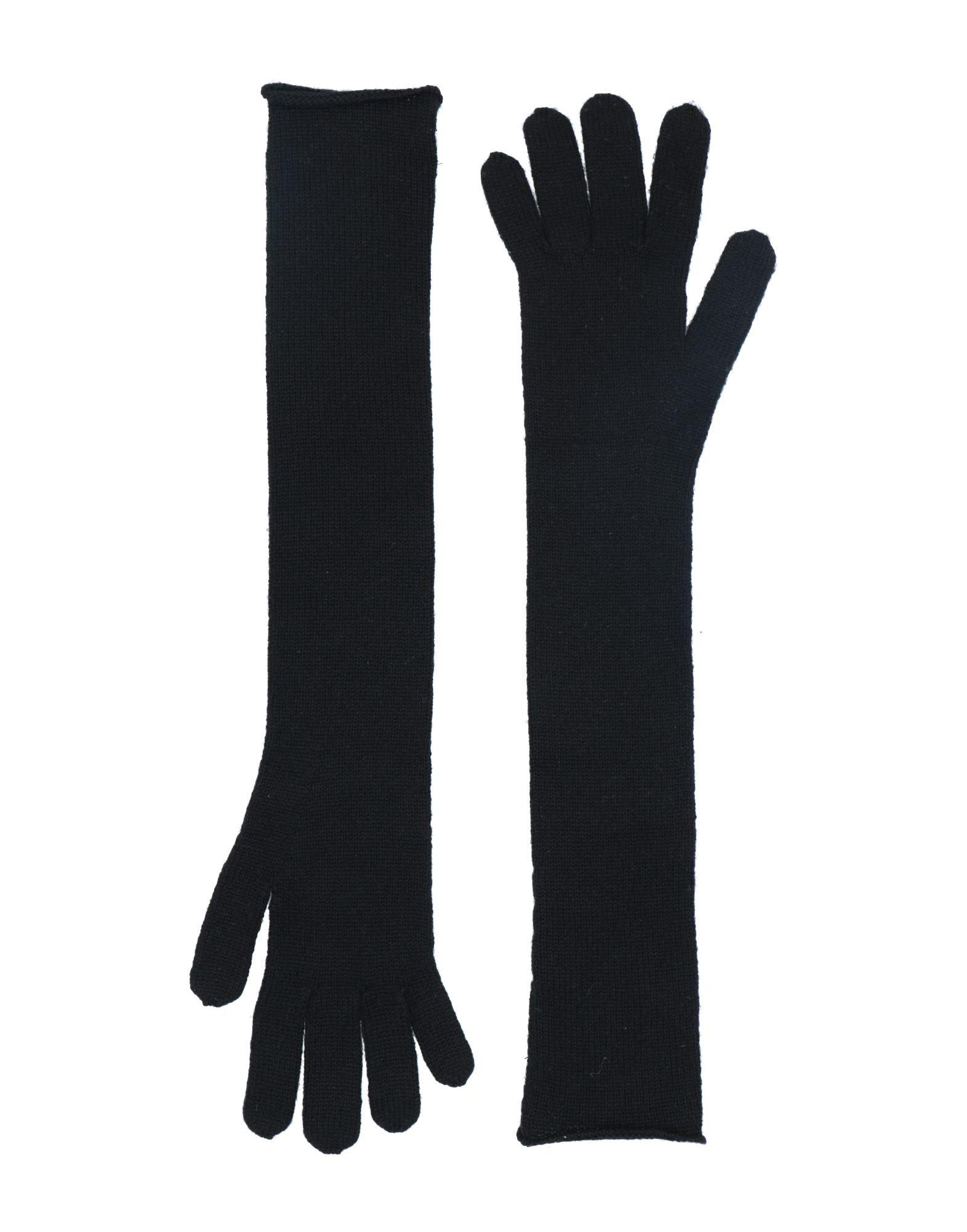 《セール開催中》ALTA NARAN レディース 手袋 ブラック one size カシミヤ 100%