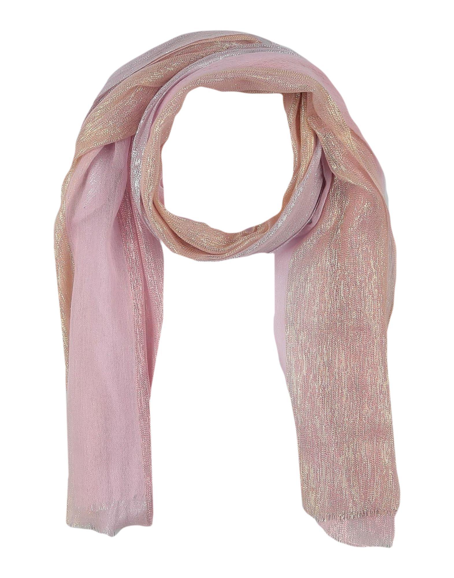 《期間限定セール開催中!》DIANORA SALVIATI レディース ストール ピンク 紡績繊維