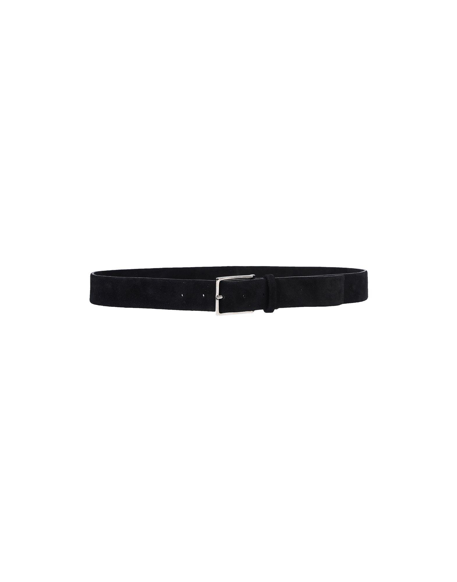 《セール開催中》ORCIANI メンズ ベルト ブラック 85 革