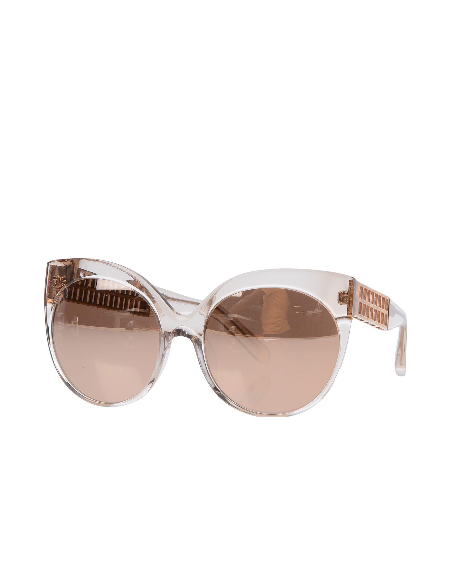 цена LINDA FARROW Солнечные очки онлайн в 2017 году