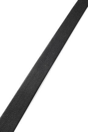 RAG & BONE Evan eyelet-embellished leather waist belt